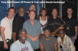 Tom Jones Band at Tower of Power